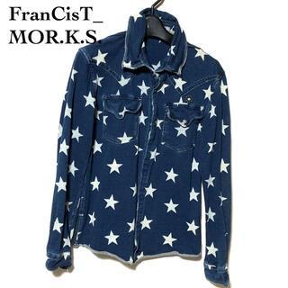 フランシストモークス(FranCisT_MOR.K.S.)のフランシストモークス スター ジョグデニムシャツ 2/MOR.K.S. 星柄(シャツ)