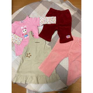 ニットプランナー(KP)の子供服まとめて冬服 サイズ80〜100 ミキハウス ニットプランナー他15点(その他)