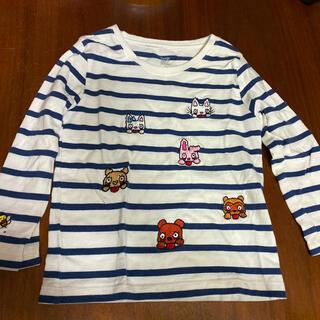 グラニフ(Design Tshirts Store graniph)のデザインティシャツ ロンT のんたん 100(Tシャツ/カットソー)