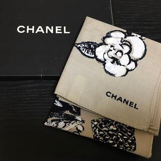 シャネル(CHANEL)のシャネル ハンカチ 大判 ヴィンテージ ハンカチーフ 新品未使用(ハンカチ)