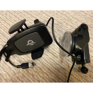 車載 急速ワイヤレスQI充電 コイルセンサー 10W/7.5W(車内アクセサリ)