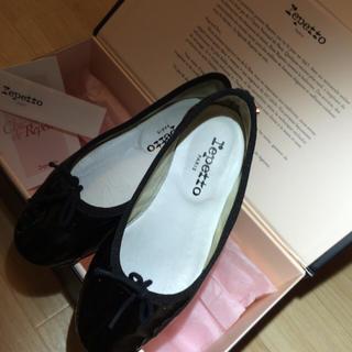 レペット(repetto)のレペット 黒フラット靴 17センチ(フォーマルシューズ)