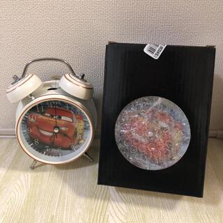 ディズニー(Disney)の12/25値下げ 新品 クリスマスに! Disney  カーズ 目覚まし時計一個(置時計)