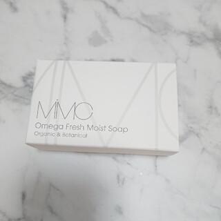 エムアイエムシー(MiMC)の【限定復刻】MIMC オメガフレッシュモイストソープ フレッシュローズウッド(洗顔料)