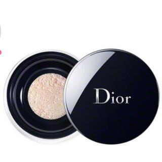 ディオール(Dior)の  ディオールスキンフォーエヴァーコントロールルースパウダー001ユニバーサル(フェイスパウダー)