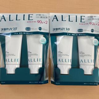 アリィー(ALLIE)のアリィー ALLIE EXTRA UV GEL 90g×4(日焼け止め/サンオイル)