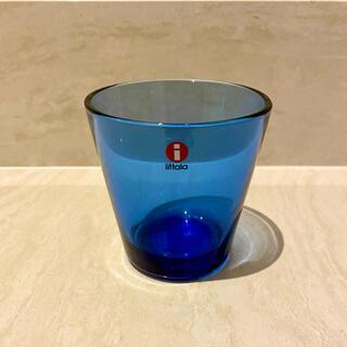 イッタラ(iittala)の新品未使用品 イッタラ カルティオ ウルトラマリンブルー (グラス/カップ)