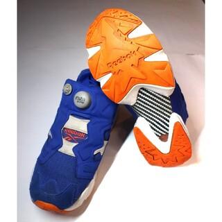 リーボック(Reebok)のリーボック ポンプフューリー ブルー/オレンジ/ホワイト 24cm(スニーカー)