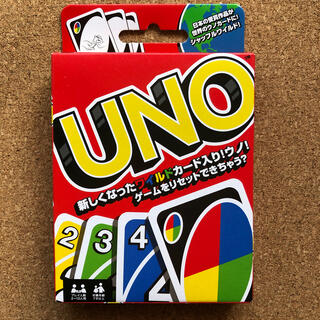 UNO  ウノ カードゲーム 新品(トランプ/UNO)