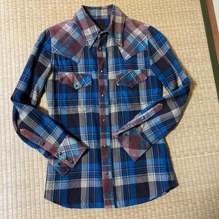 イサムカタヤマバックラッシュ(ISAMUKATAYAMA BACKLASH)のバックラッシュ チェックシャツ (シャツ)