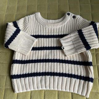 ベビーギャップ(babyGAP)のセーター サイズ80(ニット/セーター)