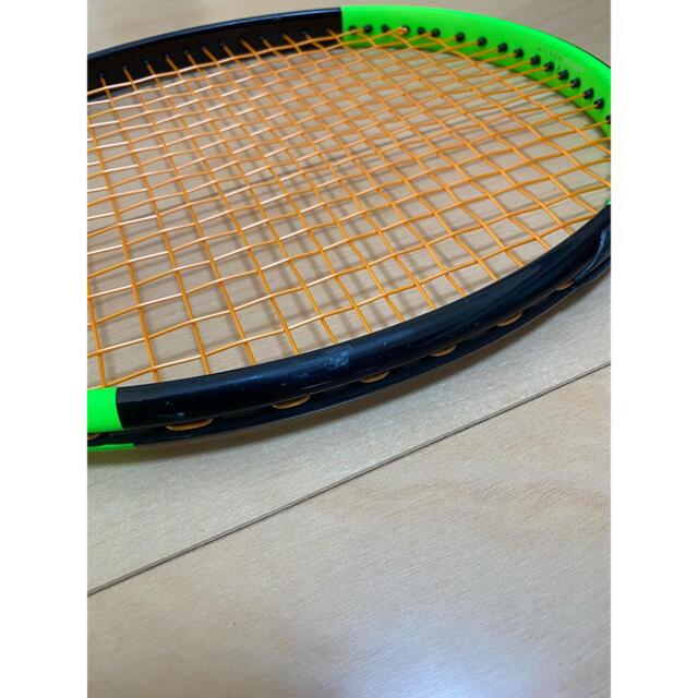 wilson(ウィルソン)のウィルソン ブレードWilson BLADE98CV18×20G2テニスラケット スポーツ/アウトドアのテニス(ラケット)の商品写真