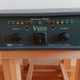 アメリカンオーディオV3000(パワーアンプ)