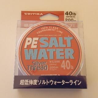 ソルトウォーターPEライン UNITIKA(釣り糸/ライン)