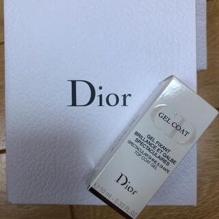 ディオール(Dior)のDior ジェルトップコート(ネイルトップコート/ベースコート)
