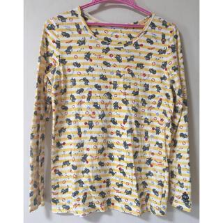 ラフ(rough)のrough  長袖 猫模様 Tシャツ(Tシャツ(長袖/七分))