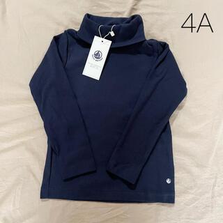 プチバトー(PETIT BATEAU)の新品未使用  プチバトー  タートルネック  Tシャツ  4ans(Tシャツ/カットソー)