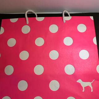 ヴィクトリアズシークレット(Victoria's Secret)のヴィクトリアシークレットPINKショップ袋 送料無料(ショップ袋)