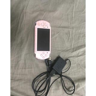 プレイステーション(PlayStation)のPSP ピンク(携帯用ゲーム機本体)