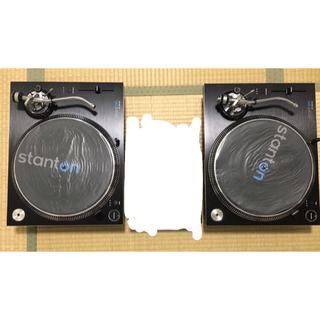 【美品 元箱有り】ターンテーブル stanton st150m 2台(ターンテーブル)