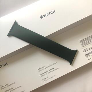 アップル(Apple)のApple 純正 ソロループ 40mm キプロスグリーン サイズ3(腕時計)