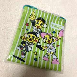 ハンシンタイガース(阪神タイガース)の新品 阪神タイガース 巾着 非売品(キャラクターグッズ)