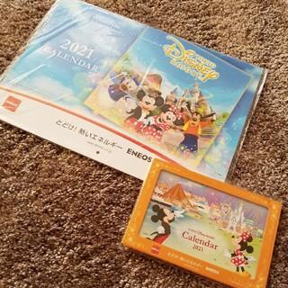 ディズニー(Disney)のエネオス ディズニーカレンダー 2021(カレンダー/スケジュール)