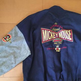ディズニー(Disney)の古着 ミッキーマウス スタジャン(スタジャン)