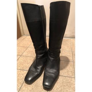ヒミコ(卑弥呼)のロングブーツ 23.5cm カムイウォーターマッサージ(ブーツ)