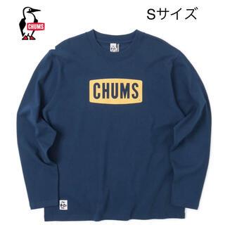 チャムス(CHUMS)の新品タグ付き CHUMS チャムスロゴロングTシャツ  Sサイズ ②(Tシャツ/カットソー(七分/長袖))