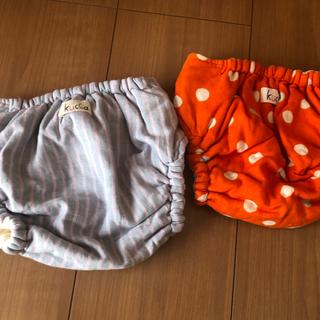 クッカ(kukkA)のまらりいな様専用 kucca  布おむつカバー テープ型 Mサイズ 2枚セット(布おむつ)