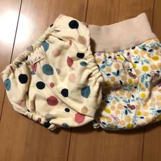 クッカ(kukkA)のみーちゃん様専用kucca 布おむつカバー Lサイズセット(布おむつ)