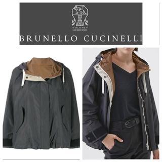 ブルネロクチネリ(BRUNELLO CUCINELLI)のブルネロクチネリ リバーシブルレザージャケット42(その他)