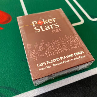 新品未使用  ポーカースターズトランプ 赤黒2個セット ジャンボインデックス(トランプ/UNO)