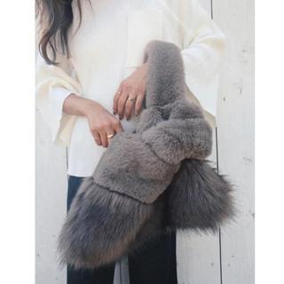 【送料込】TRUNC 88 Fur Switching Bag 最終値下げ(トートバッグ)