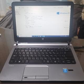 ヒューレットパッカード(HP)のHP Probook 430 G1/ 4GB/ 320GB/ CORE i3(ノートPC)