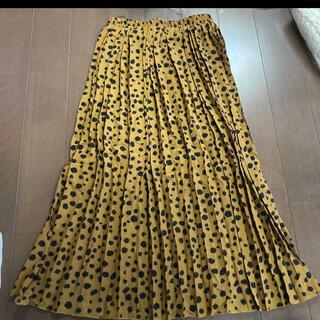 セシルマクビー(CECIL McBEE)のCECIL Mc BEE プリーツ スカート 新品(ロングスカート)