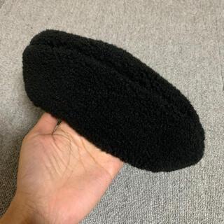 ビューティアンドユースユナイテッドアローズ(BEAUTY&YOUTH UNITED ARROWS)の新品!ボアベレー帽・ビューティアンドユース(ハンチング/ベレー帽)