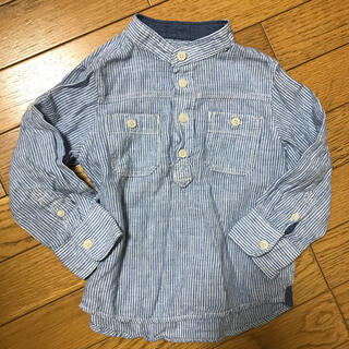 エイチアンドエイチ(H&H)のH&M☆ストライプシャツ100センチ(Tシャツ/カットソー)