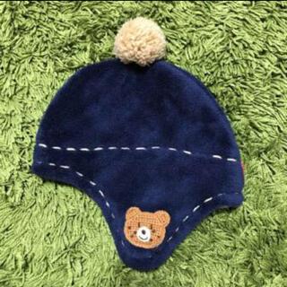 ホットビスケッツ(HOT BISCUITS)のミキハウス ホットビスケッツ 防寒 帽子(帽子)