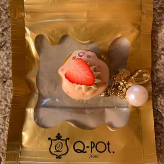 キューポット(Q-pot.)のQ-pot ストロベリーカップケーキチャーム(チャーム)