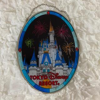 ディズニー(Disney)のステンドグラスの飾り(インテリア雑貨)