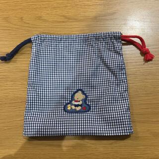 ファミリア(familiar)のファミリアのコップ袋(ランチボックス巾着)