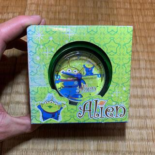 ディズニー(Disney)のDNアクリルラウンド アラームクロック(置時計)