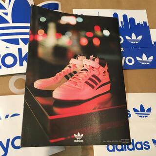 アディダス(adidas)のアディダスオリジナルス ステッカー 4種セット adidas originals(ノベルティグッズ)