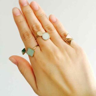 エイチアンドエム(H&M)のH&M 指輪 3個セット(リング(指輪))