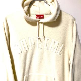 シュプリーム(Supreme)のsupreme polartec hooded sweatshirt(パーカー)