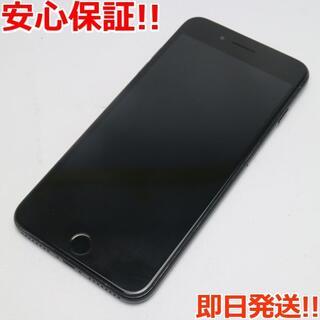 アイフォーン(iPhone)の美品 SIMフリー iPhone7 PLUS 256GB ジェットブラック (スマートフォン本体)