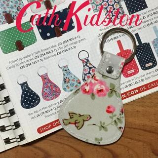 キャスキッドソン(Cath Kidston)の新品 キャスキッドソン キーフォブ キーリング バードグレー(キーホルダー)