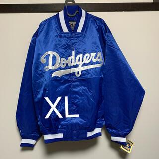 マジェスティック(Majestic)のタグ付き 未使用品 ドジャース スタジャン Dodgers デッドストック XL(スタジャン)